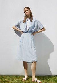 Esprit - A-line skirt - light blue - 5