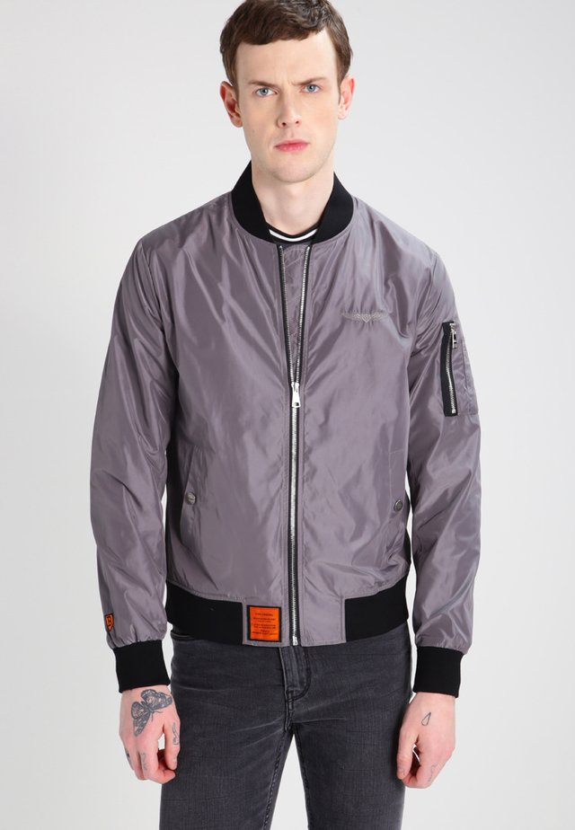 HOMME  - Bomber Jacket - dark  grey