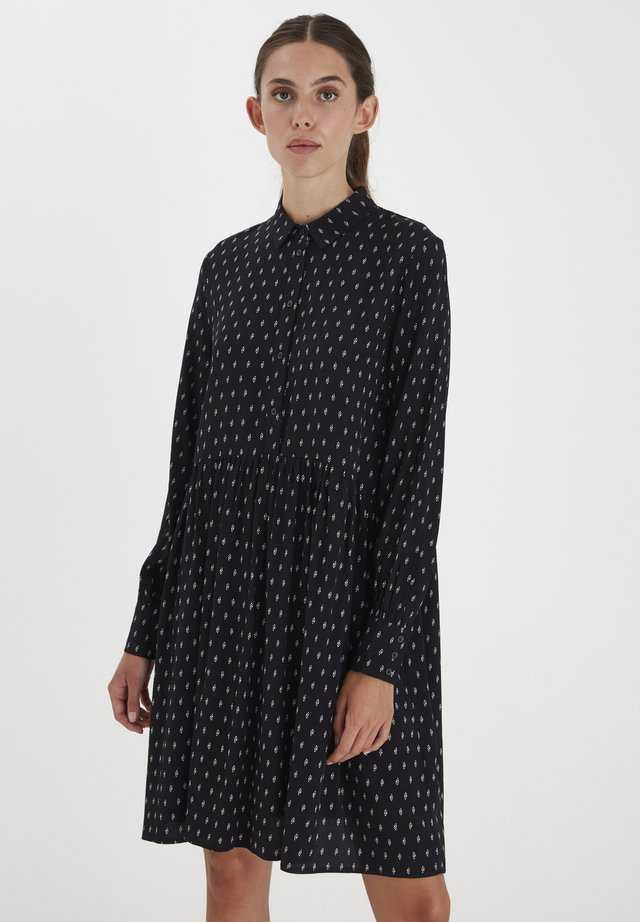 IHCARINA - Robe chemise - black