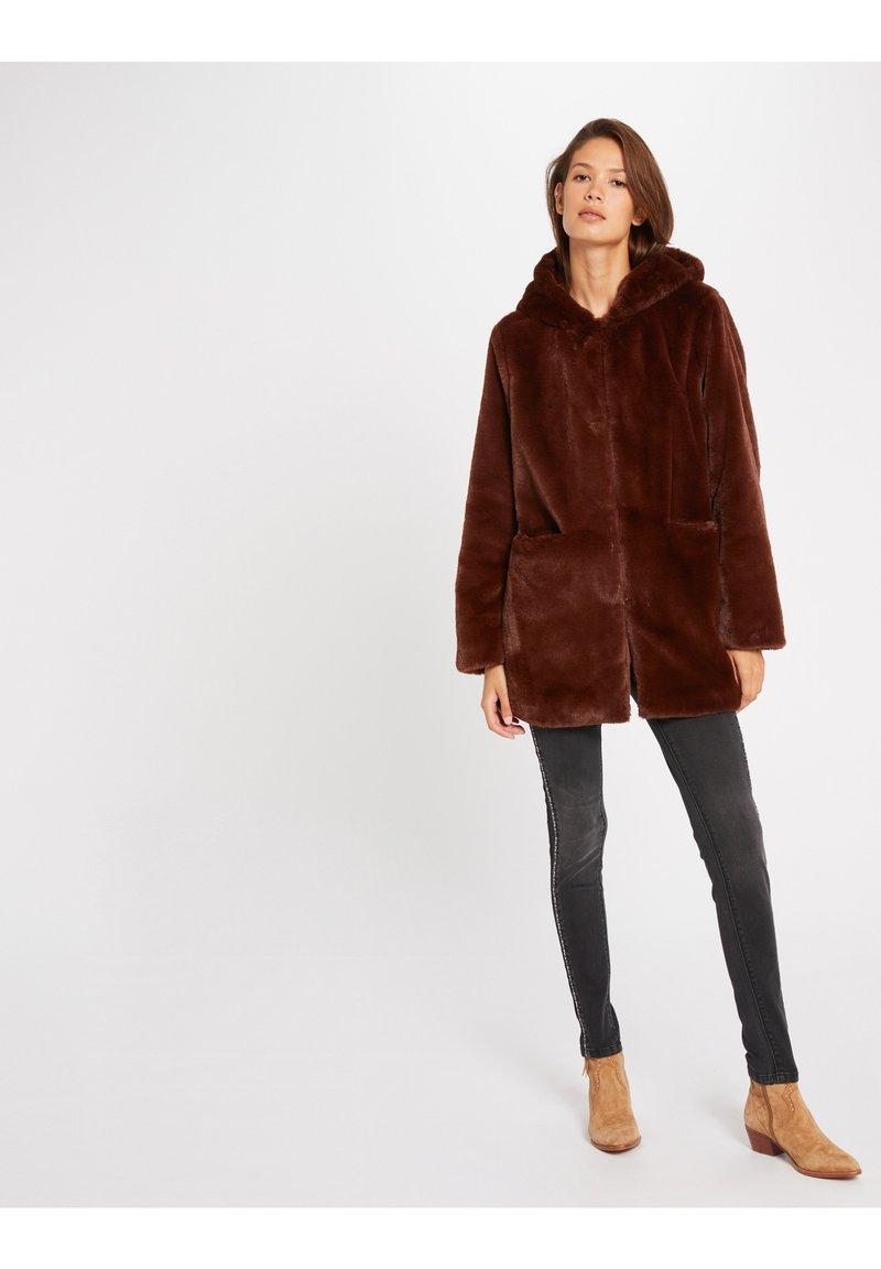 Morgan - Winter coat - dark brown