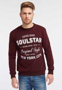 SOULSTAR - Sweatshirt - burgundy - 0