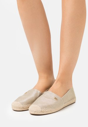 KENDRICK  - Espadrilky - light gold
