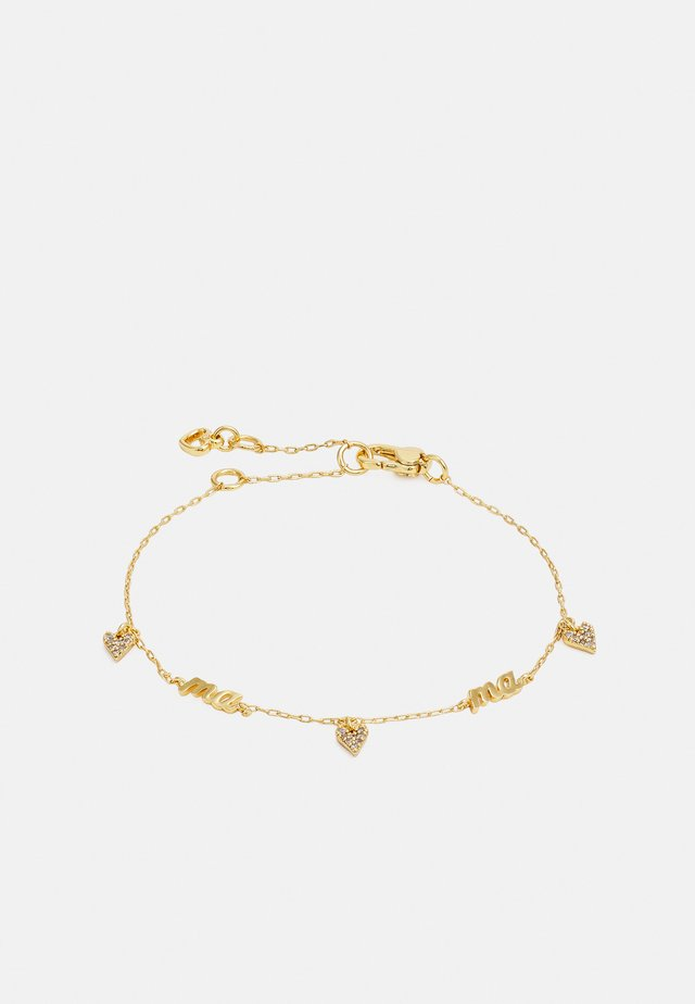 MAMA BRACELET - Bransoletka - clear/gold-coloured