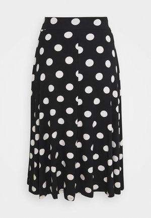 SKATER SKIRT - A-line skirt - black