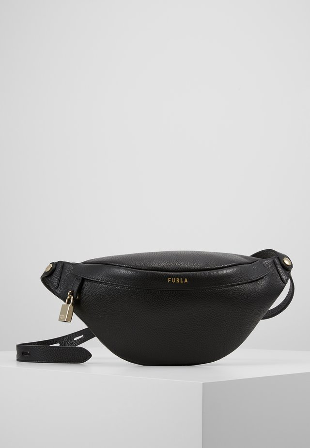 FURLA PIPER S BELT BAG - Ledvinka - nero