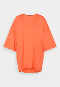 NU-IN - OVERSIZED CREW NECK  - Basic T-shirt - orange - 4