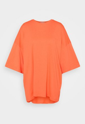 OVERSIZED CREW NECK  - T-shirt - bas - orange