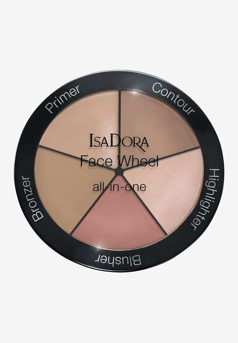 IsaDora - FACE WHEEL ALL-IN-ONE - Face palette - -