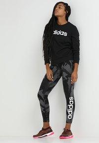 adidas Performance - Sweatshirt - black/white - 1