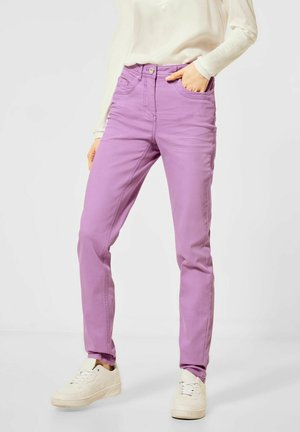 Slim fit jeans - lila
