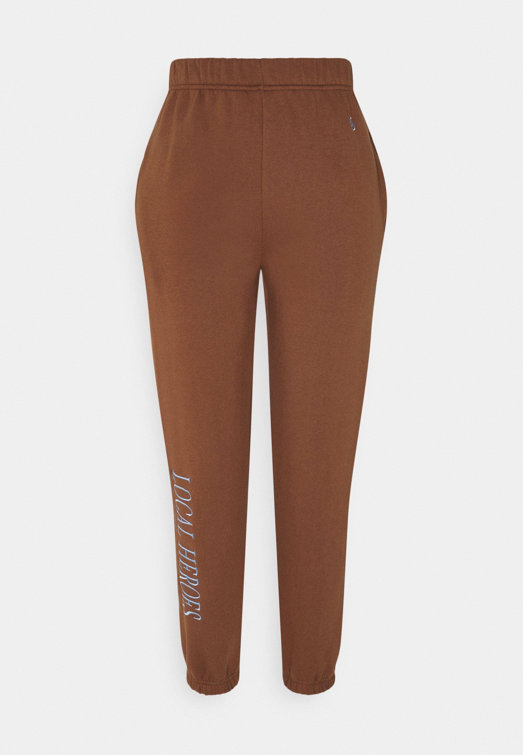 Women CHOCOLATE PANTS - Tracksuit bottoms