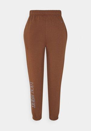 CHOCOLATE PANTS - Trainingsbroek - brown