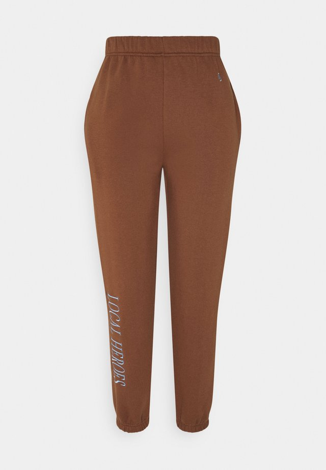 CHOCOLATE PANTS - Trainingsbroek - brown