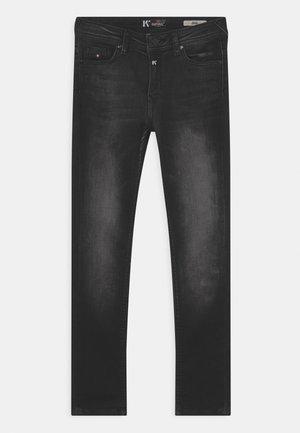 JEGO - Slim fit jeans - black denim