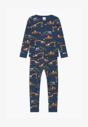 DIGGER PRINT  - Pyjamas - dark dusty blue