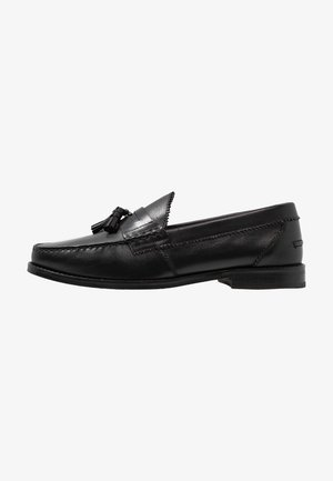 TOM TASSEL LOAFER - Elegantní nazouvací boty - black