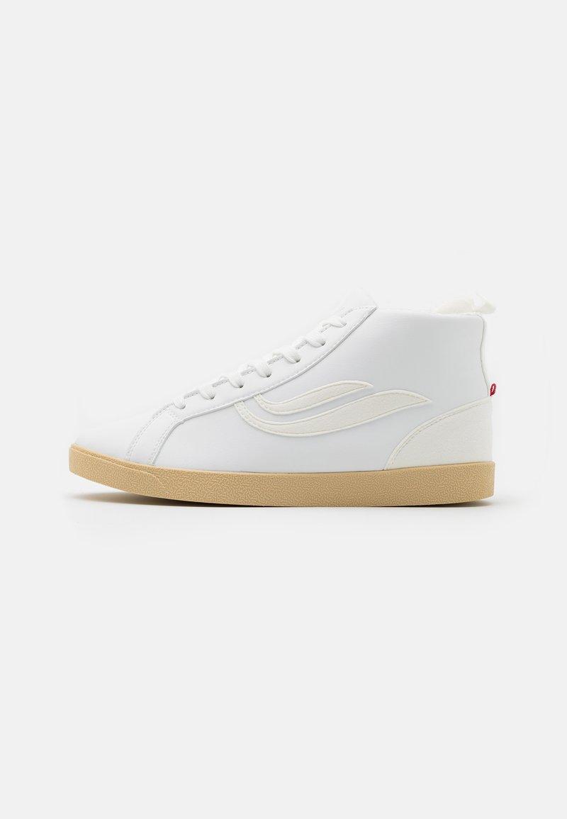Genesis - HELÀ MID VEGAN UNISEX - High-top trainers - white/offwhite