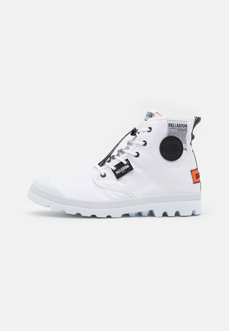 Palladium - PAMPA LITE OVERLAB UNISEX - High-top trainers - white
