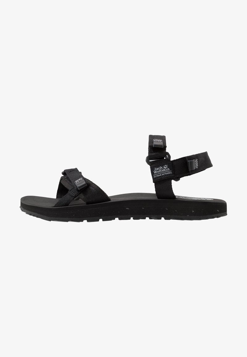 Jack Wolfskin - OUTFRESH - Walking sandals - black/light grey