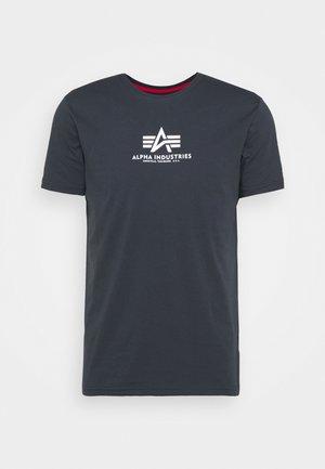 BASIC - Print T-shirt - blue