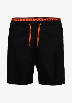 DOPPELLAGIGE ACTIVE SHORTS - Shorts - black