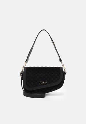 DREAM FLAP SHOULDER BAG - Bolso de mano - black