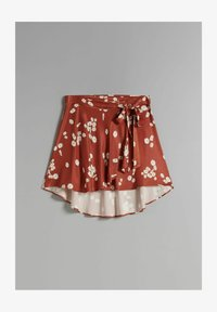 Bershka - Áčková sukně - brown - 4