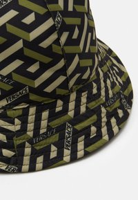 Versace - HAT UNISEX - Hat - kaki/nero - 2