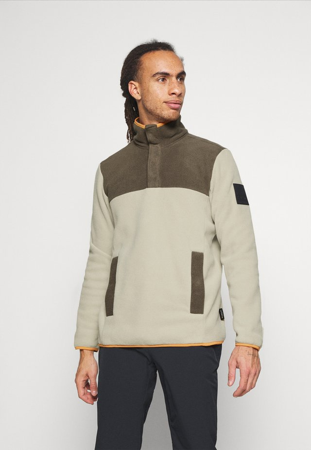 FLASH - Fleece trui - beige