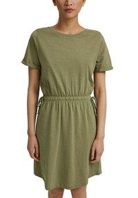 Esprit - Jersey dress - light khaki - 4