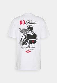 Obey Clothing - NO FUTURE - Printtipaita - white - 1
