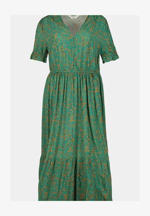 Day dress - smaragdgroen
