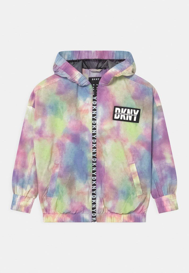 DKNY - HOODED WINDBREAKER - Light jacket - multi coloured