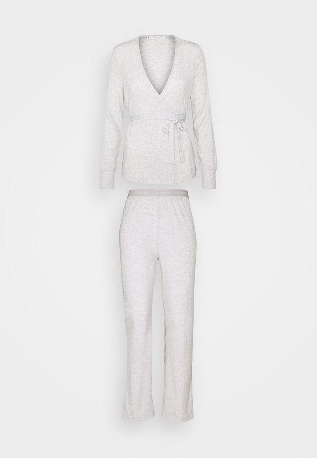 WRAP SET - Pyjamas - light grey