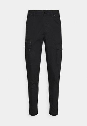 JJIACE JJDEX TAPERED - Cargo trousers - black