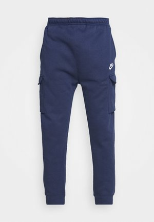 CLUB PANT - Cargobroek - midnight navy/white