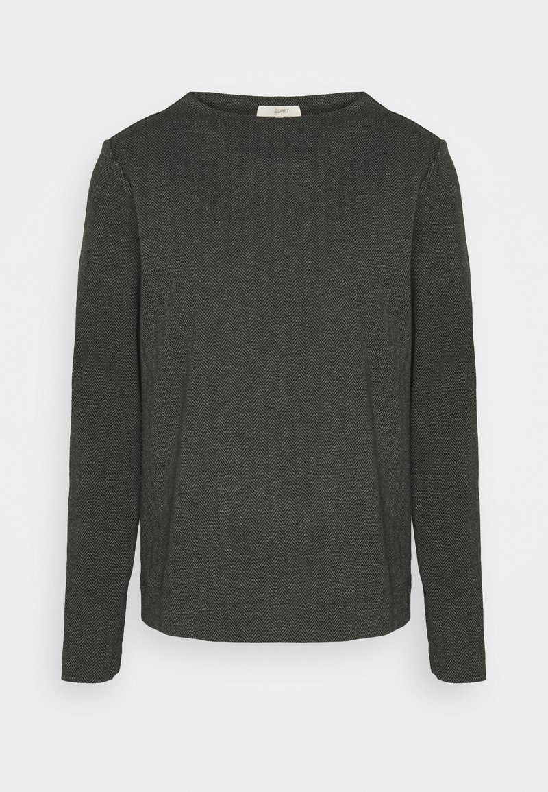 Esprit - Long sleeved top - anthracite