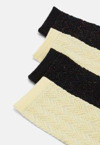 Pieces - PCRAYMA SOCKS 4 PACK - Ponožky - golden haze - 1