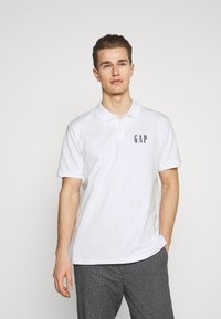 GAP - LOGO - Polo shirt - optic white - 0