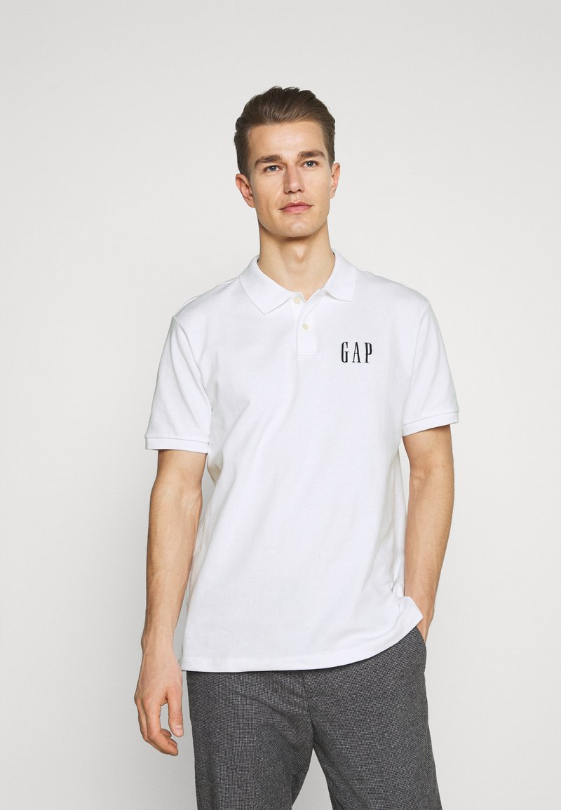 GAP - LOGO - Polo shirt - optic white