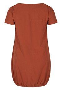 Zizzi - Day dress - orange - 6