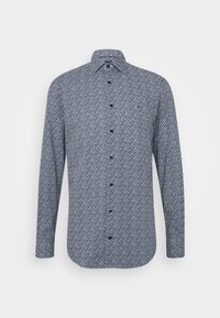Tommy Hilfiger Tailored - LEAVE PRINT CLASSIC SLIM SHIRT - Shirt - blue - 4