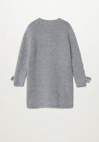 Mango - LOUISE - Pletené šaty - mediumgrijs - 1