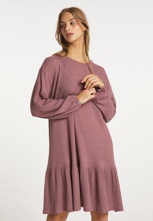 Jumper dress - mauve