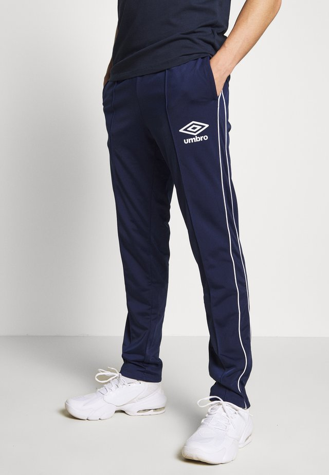 DIAMOND TRACK PANT - Tracksuit bottoms - medieval blue/brilliant white