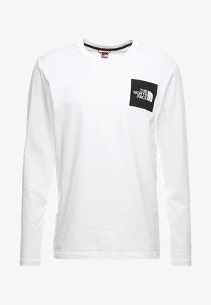 FINE TEE  - Topper langermet - white