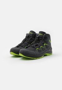 Lowa - INNOX EVO GTX QC JUNIOR UNISEX - Hiking shoes - anthrazit/limone - 1