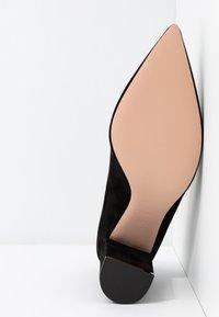 HUGO - INES CHUNKY - High heels - black - 6