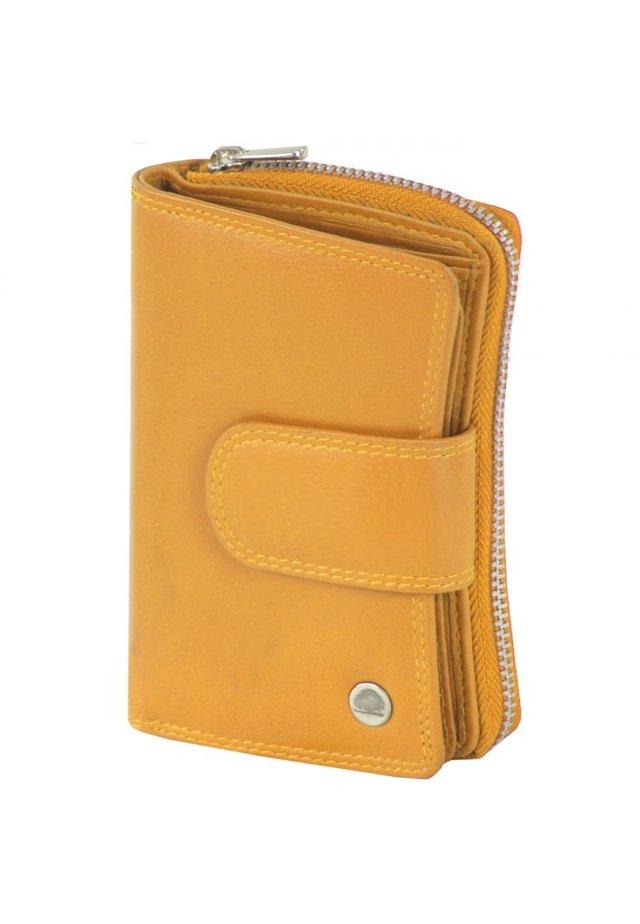 SPONGY (8,5 cm) - Wallet - gelb
