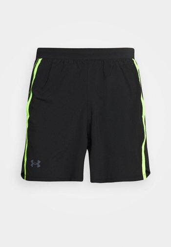 LAUNCH TAPE SHORT - Sports shorts - black